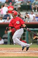 March 22nd 2008:  Jerry Gil of the Cincinnati Reds during a Spring Training game at Osceola County Stadium in Kissimmee, FL.  Photo by:  Mike Janes/Four Seam Images