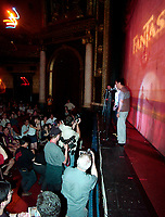 July,24, 2000 Montreal, Quebec, Canada<br /> HK actor Lau Ching-Wan and his wife attends a  presentation of Johnny To movie ;  Running Out of Time at the 5th FantAsia Film Festival in Montreal, on July 24, 2000..<br /> Photo by Pierre Roussel - Images Distribution