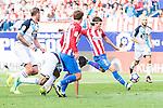 Atletico de Madrid's player Antoine Griezmann and during a match of La Liga Santander at Vicente Calderon Stadium in Madrid. September 25, Spain. 2016. (ALTERPHOTOS/BorjaB.Hojas)