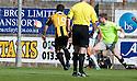 East Fife's Liam Buchanan scores their first goal.