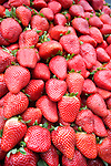 Strawberries, Marche Market, Paris, France, Europe