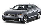 Front three quarter view of a 2013 Volkswagen Jetta GLI Sedan2013 Volkswagen Jetta GLI Sedan