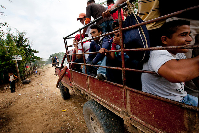 Illegal immigrants from Central America on their way to the US pass through the Mayan Biosphere. Large portions of the reserve have become a no man's land where even the Army is afraid to patrol