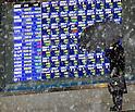 Tokyo Stock Market on Tuesday, February 4, 2014