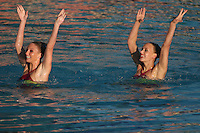 11 February 2006: Action during Stanford's 90-59 win at the Stanford Invitational at the Avery Aquatic Center in Stanford, CA.
