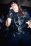 SAVATAGE - Jon Oliva performing live in June 1985
