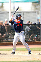 Chun-Hsiu Chen, Cleveland Indians 2010 minor league spring training..Photo by:  Bill Mitchell/Four Seam Images.