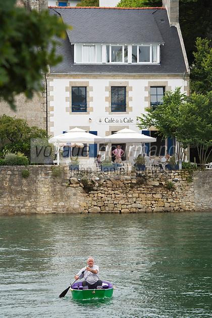 urope/France/Bretagne/29/Finistère/ Sainte-Marine: le  Café de la Cale