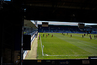 17th April 2021; Kenilworth Road, Luton, Bedfordshire, England; English Football League Championship Football, Luton Town versus Watford; A view from the Oak Road stand at Kenilworth Road.