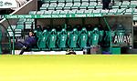 Hibs v St JohnstoneÖ24.11.20   Easter Road      SPFL<br /> Saints manager Callum Davidson<br /> Picture by Graeme Hart.<br /> Copyright Perthshire Picture Agency<br /> Tel: 01738 623350  Mobile: 07990 594431