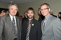 Jean Charest a la tribune du CORIM, novembre 2009<br /> <br /> PHOTO : Agence Quebec Presse