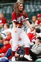 Razorback Girls;March 10th, 2010; South Dakata State University vs Arkansas Razorbacks at Baum Stadium in Fayetteville Arkansas. Photo by: William Purnell/Four Seam Images