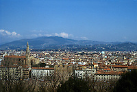 Florence: Panoramic view from Plaza Michelangelo.