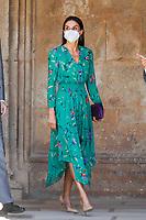 JUN 10 Spanish Royals visit La Alhambra