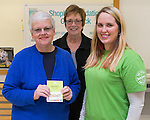 January 24, 2017- Tuscola, IL- Shopko earned a grant for a $50.00 donation to the SAM Pantry. Accepting the grant from left are are SAM volunteers Cammy Seguin and Kathy Rhodes. Presenting on right is Shopko's Liz Anderson.  [Photo: Douglas Cottle]