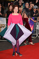 """Claire Stewart<br /> arriving for the London Film Festival 2017 screening of """"Breathe"""" at the Odeon Leicester Square, London<br /> <br /> <br /> ©Ash Knotek  D3318  04/10/2017"""