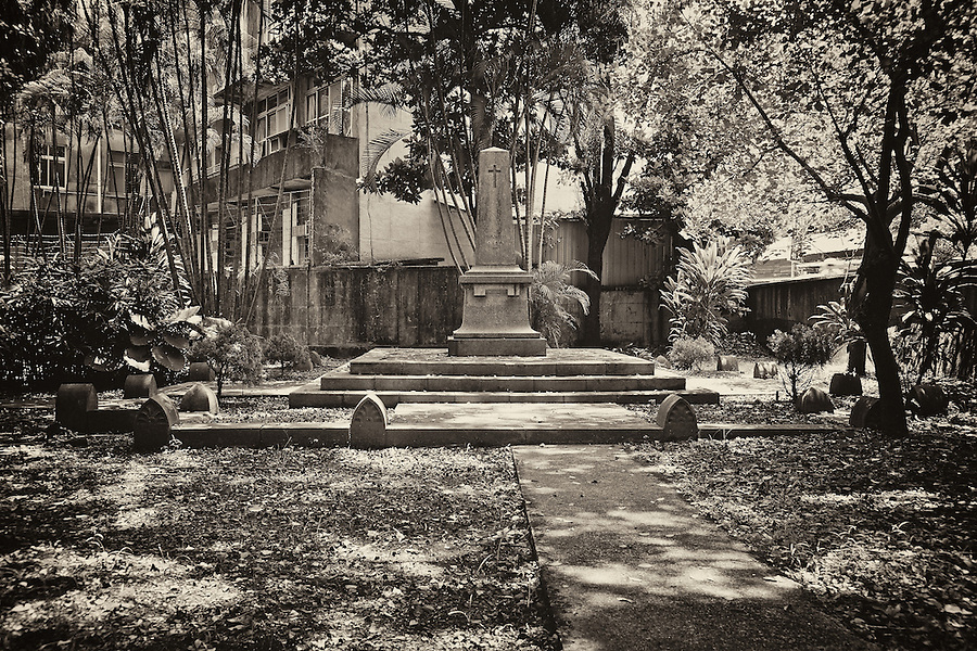 The French Cemetery At Keelung, Taiwan.