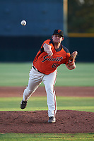 AZL Giants Orange relief pitcher Cory Taylor (60) during a rehab assignment in an Arizona League game against the AZL Mariners on July 18, 2019 at the Giants Baseball Complex in Scottsdale, Arizona. The AZL Giants Orange defeated the AZL Mariners 7-4. (Zachary Lucy/Four Seam Images)