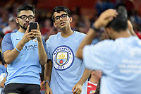 Houston, TX - Thursday July 20, 2017: Fans during a match between Manchester United and Manchester City in the 2017 International Champions Cup at NRG Stadium.