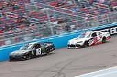 #18: Riley Herbst, Joe Gibbs Racing, Toyota Supra Monster Energy, #19: Brandon Jones, Joe Gibbs Racing, Toyota Supra Toyota Service Centers