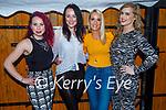 Enjoying the evening in Croi on Saturday, l to r: Carly Norris, Eimear Devane, Stephanie O'Shea and Sara Dennehy.