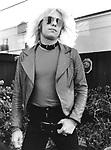 Motley Crue Vince 1981<br /> © Chris Walter