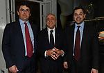 FRANCESCO GAETANO CALTAGIRONE CON I FIGLI ALESSANDRO E FRANCESCO JR<br /> PREMIO GUIDO CARLI - QUARTA EDIZIONE<br /> RICEVIMENTO HOTEL MAJESTIC ROMA 2013