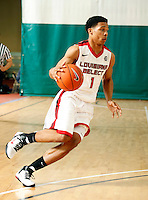 April 10, 2011 - Hampton, VA. USA;  Cleveland Thomas participates in the 2011 Elite Youth Basketball League at the Boo Williams Sports Complex. Photo/Andrew Shurtleff