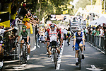 Caleb Ewan (AUS) Lotto-Soudal wins Stage 11 of the 2019 Tour de France running 167km from Albi to Toulouse, France. 17th July 2019.<br /> Picture: ASO/Pauline Ballet   Cyclefile<br /> All photos usage must carry mandatory copyright credit (© Cyclefile   ASO/Pauline Ballet)