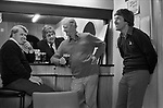 Didsbury Golf Club, near Manchester 1981. Middle England, Middle Class, Middle Age 1980s UK. propping up the bar after a game of golf.