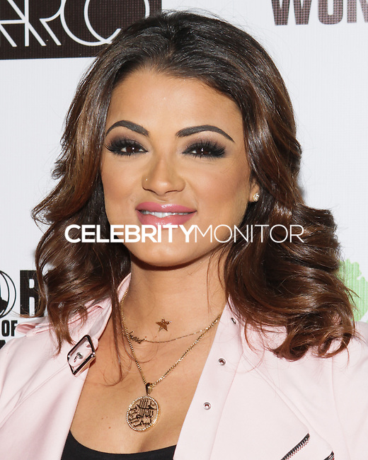 LOS ANGELES, CA, USA - OCTOBER 14: Golnesa Gharachedaghi arrives at the Marco Marco: Collection Three 2015 Runway Presentation held at the Viviana Cathedral on October 14, 2014 in Los Angeles, California, United States. (Photo by Rudy Torres/Celebrity Monitor)