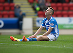 St Johnstone v Stirling Albion…30.07.16  McDiarmid Park. Betfred Cup<br />Steven MacLean rues a missed chance to score<br />Picture by Graeme Hart.<br />Copyright Perthshire Picture Agency<br />Tel: 01738 623350  Mobile: 07990 594431
