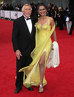 "Bruce Forsyth and wife Winalia dies at 89 retro set - <br /> arriving for the ""TV BAFTA Awards 2013"", Royal Festival Hall, London. <br /> <br /> ©Lexie Appleby 12/05/2013"