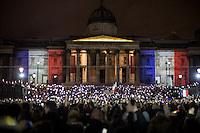 14.11.2015 - London's Vigils for the Victims of the Paris Terrorist Attacks