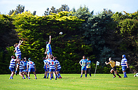 Action from the Taranaki division one club rugby match between Clifton and Tukapa at Clifton RFC in Tikorangi, New Zealand on Saturday, 12 June 2020. Photo: Dave Lintott / lintottphoto.co.nz