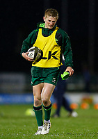 13th March 2021; Galway Sportsgrounds, Galway, Connacht, Ireland; Guinness Pro 14 Rugby, Connacht versus Edinburgh; Conor Fitzgerald pictured during the warm up for Connacht