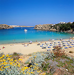 Spain, Balearic Islands, Menorca, Arenal d'en Castell: popular resort in the North | Spanien, Balearen, Menorca, Arenal d'en Castell: beliebter Ferienort im Norden