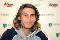17-2-08, Netherlands, Rotterdam, ABNAMROWTT, Pressconference Rafael Nadal