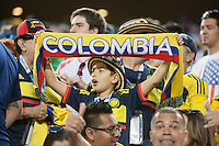 Santa Clara, CA - Friday June 3, 2016: Colombia fan. USA played Colombia in the opening match of the Copa América Centenario game at Levi's Stadium.