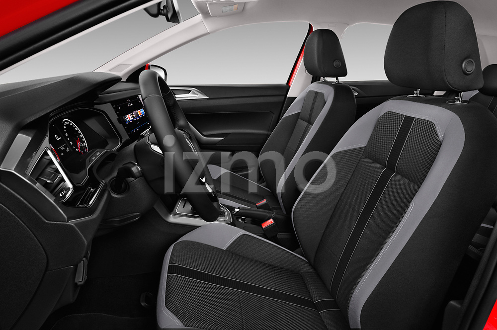 Front seat view of a 2018 Volkswagen Polo High Line 5 Door Hatchback front seat car photos