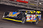 Sep 26, 2013; 7:25:40 PM; Knoxville, IA., USA; 10th Annual Lucas Oil Late Model Knoxville Nationals presented by Caseys General Stores at the Knoxville Raceway.  Mandatory Credit: (thesportswire.net)