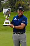 Feb 22, 2009: Phil Mickelson wins  the Northern Trust Open 2009 by one stroke.