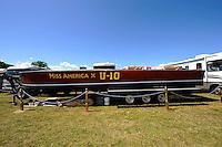 """Gar Wood's """"Miss America X"""" U-10..10-12 July, 2009, 100th Gold Cup, Detroit River, Detroit, MI USA..©2009 F.Peirce Williams, USA."""