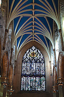 The Burns Window, St Giles Cathedral, The Royal Mile, Edinburgh, Lothian