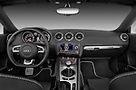 Straight dashboard view of a 2010 - 2014 Audi TT RS Convertible.