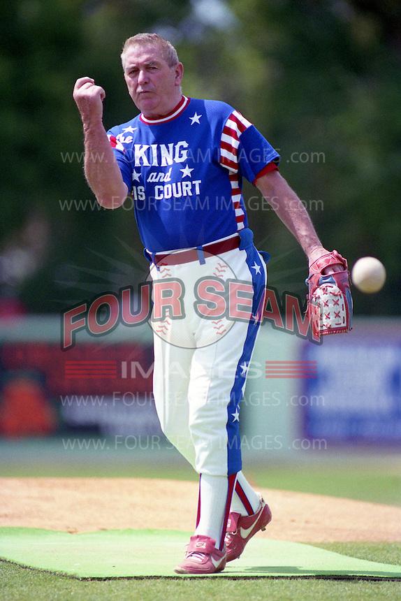 King and his Court Eddie Feigner circa 1993.  (MJA/Four Seam Images)