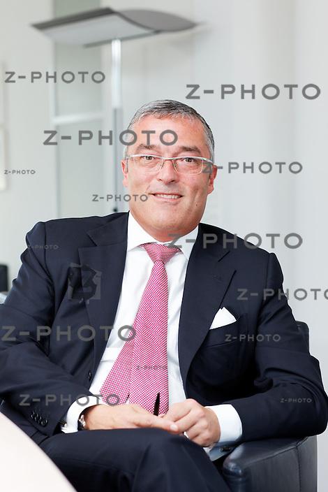 Interview mit CEO Rolf Aeberli .Chef der Zuercher Privatbank Maerki Baumann am 27. August 2009 in Zuerich..Copyright © Zvonimir Pisonic