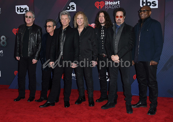 11 March 2018 - Inglewood, California - Bon Jovi. 2018 iHeart Radio Awards held at The Forum. Photo Credit: Birdie Thompson/AdMedia