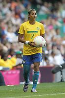 FABIANA of Brazil - Brazil Women vs Cameroon Women - Womens Olympic Football Tournament London 2012 Group E at the Millenium Stadium, Cardiff, Wales - 25/07/12 - MANDATORY CREDIT: Gavin Ellis/SHEKICKS/TGSPHOTO - Self billing applies where appropriate - 0845 094 6026 - contact@tgsphoto.co.uk - NO UNPAID USE.