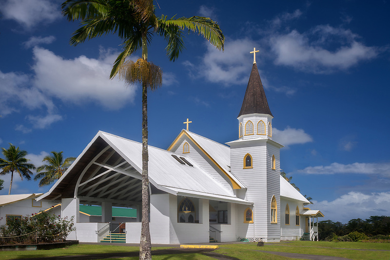 Sacred Heart Catholic Church, Hawaii Island